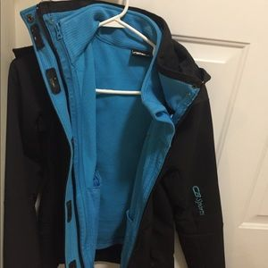 CB sports double layer very warm coat